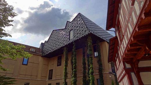 Le musée des cultures, rénové par les architectes Herzog et de Meuron.