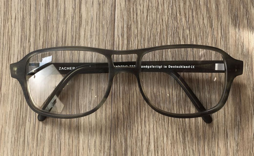 Sonderanfertigung. Maßbrille von Optiker Zacher Erfurt