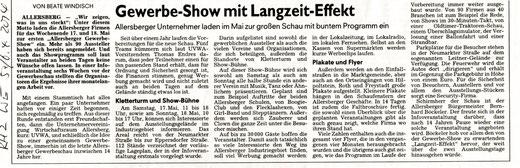 Artikel: Roth-Hilpoltsteiner Volkszeitung, 5./6. April 2014