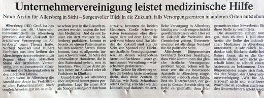 Artikel, Donaukurier, 22. April 2015