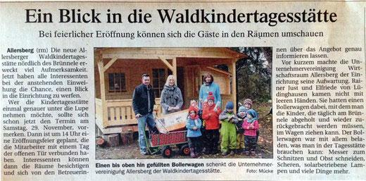 Artikel, Donaukurier, 16. November 2014