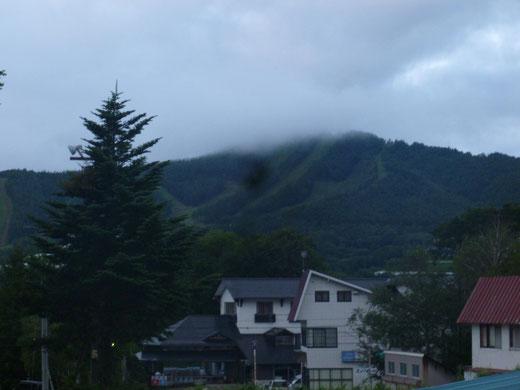 長野とうちゃーーく!雨やー