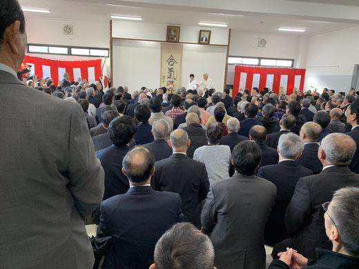 道主による奉納演武 平成31年1月13日