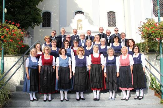 Unser Chor vor dem Schloß, Christi Himmelfahrtskonzert 9.5.2013
