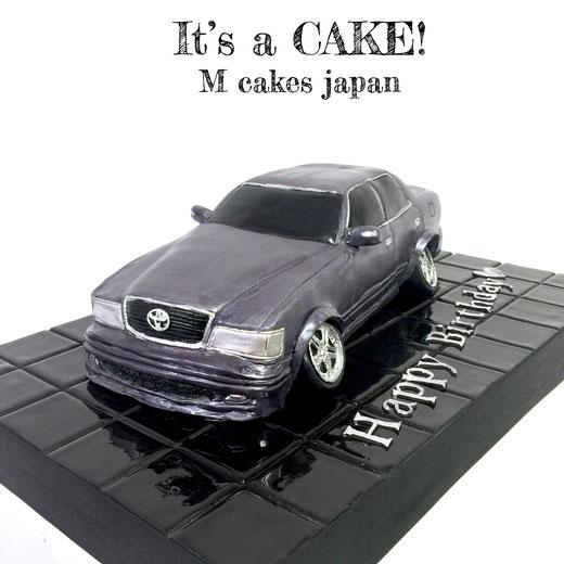 トヨタカスタム車 八の字タイヤ 車ケーキ💫 #トヨタ #カスタムカー #改造車 #八の字 #オーバーフェンダー #オリジナルエアロ #ガンメタ #車ケーキ #トヨタケーキ #ケーキオタク #3dケーキ #toyota #customcar #japancar #carmania #carcake #customcarcake #toyotacake #torte #gateau #cake #🇯🇵
