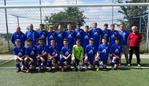 Die C-Jugend des TuS 08 Jüngersdorf verpasst nur knapp den Aufstieg in die Bezirksliga