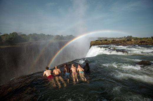 ザンビア ビクトリアの滝 ロケ 撮影 コーディネート