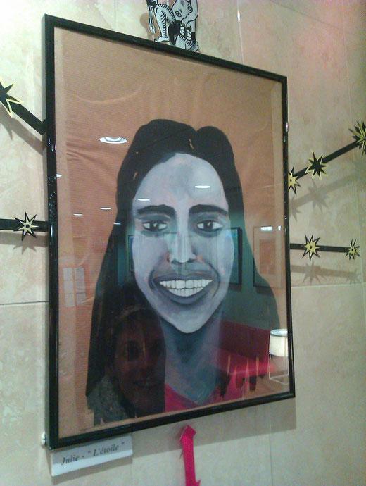 portrait de moi par Marie