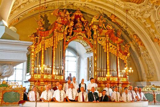 Auftritt in der Mariahilfbergkirche
