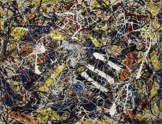 Джексон Поллок - самые дорогие картины в мире