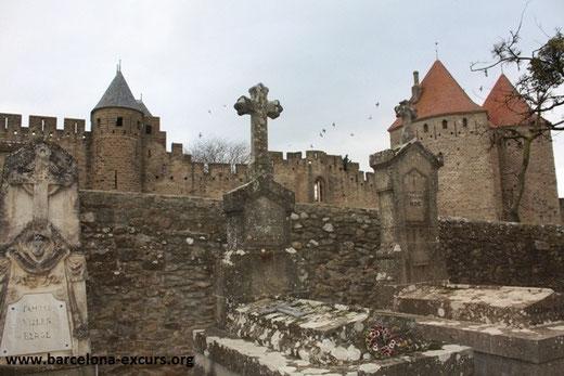 Каркассон - крепость на юге Франции