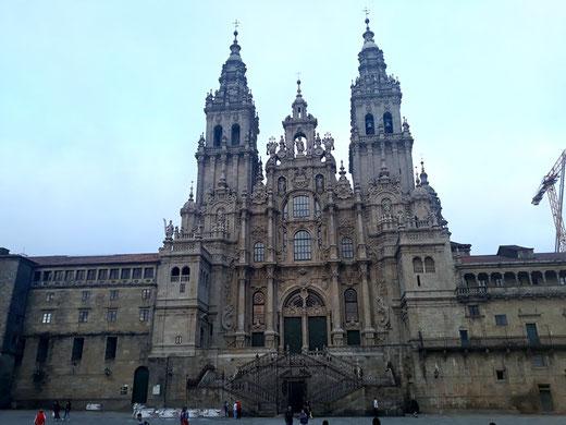 Собор Сантьяго-де-Компостела (Собор Святого Иакова) - самые красивые соборы Испании