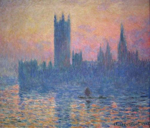 Самые известные картины Клода Моне - Парламент