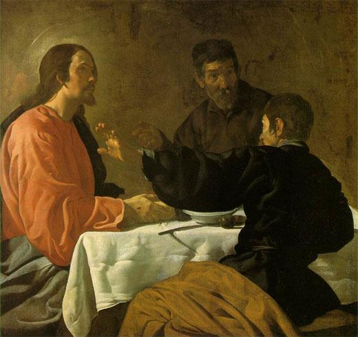 Ужин в Эммаусе - самые известные картины Веласкеса