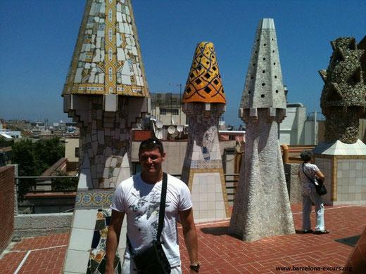 Все работы Антонио Гауди в Барселоне - Дворец Гуэля