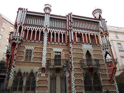 Все работы Антонио Гауди в Барселоне - дом Висенс