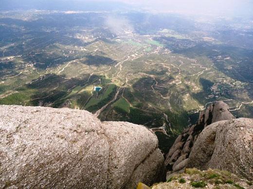 Пешком к верхней точке горы Монсеррат