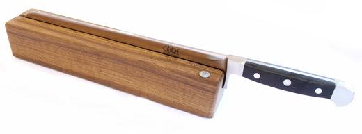 Güde Messerhalter RE001/32 + großes Brotmesser Hostaform