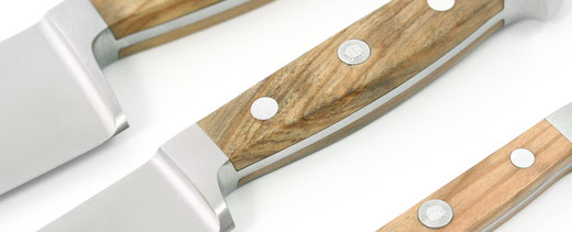 Güde Alpha Olive Messer geschmiedet