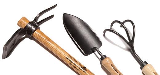 Grundausstattung Gartenwerkzeug