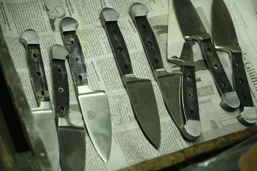 Messermanufaktur Güde Solingen - Messerklinge mit Erl
