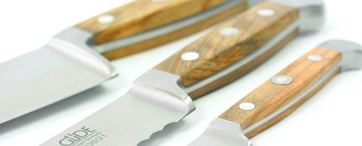 Güde Alpha Walnuss Messer geschmiedet