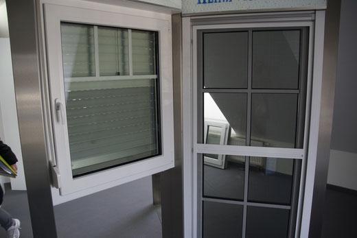 Fenster in weiß jedoch ohne Sprossen