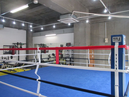 ボクシング公式リング