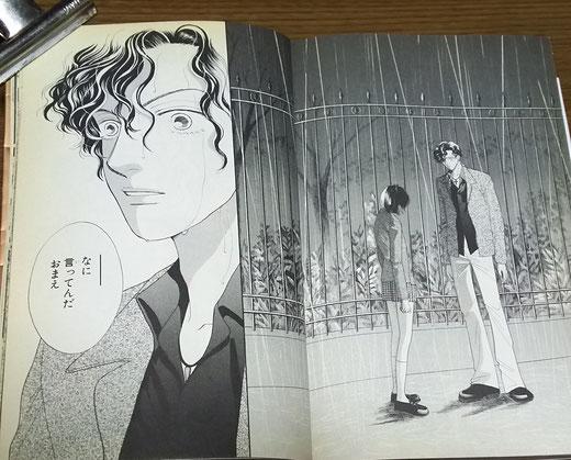 漫画≪花より男子≫  有名な〝雨の別れ〟のシーン
