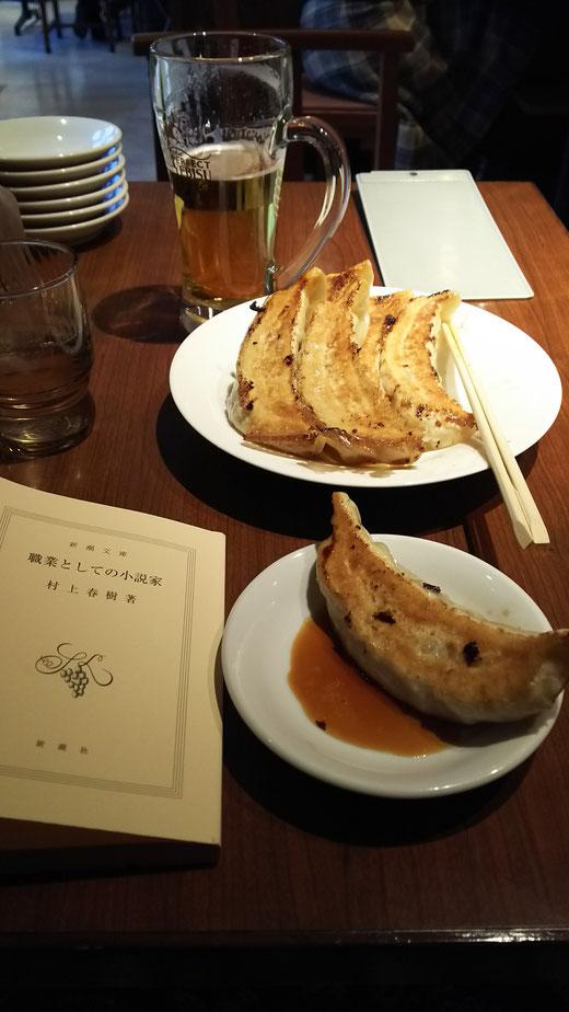 3回目に食べた、池袋東部百貨店12階〝天龍〟の巨大ギョウザ