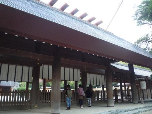 熱田神宮の大神様、参拝ができて良かったです♪
