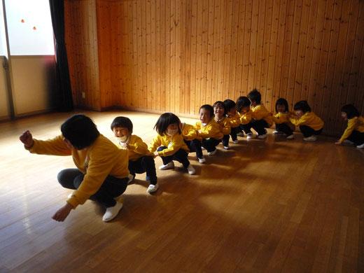 長野あけぼの幼稚園 年少組