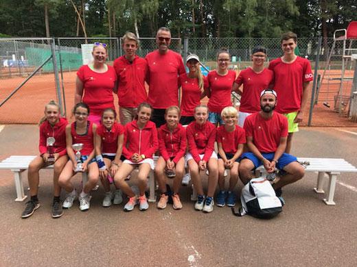 Gleich mit einem ganzen Bus kamen die Teilnehmer aus Luxemburg zum TKL!!