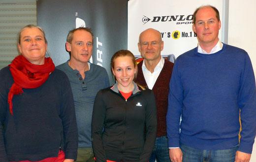V.l.n.r.: Yvonne Hahne, Jörg Dittrich, Miriam Klein, Alex Kockerbeck, Jens Tangemann