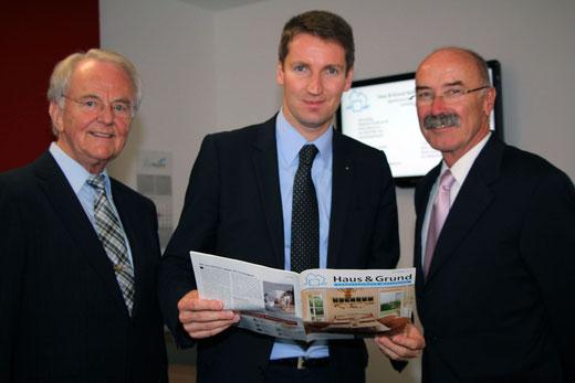 Gerd Schulte, Prof. Dr. Patrick Sensburg, Wilfried Gothe