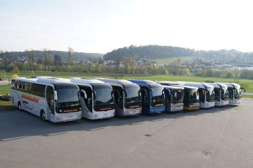 Belegschaft des Busunternehmens Dobler, Ortenburg