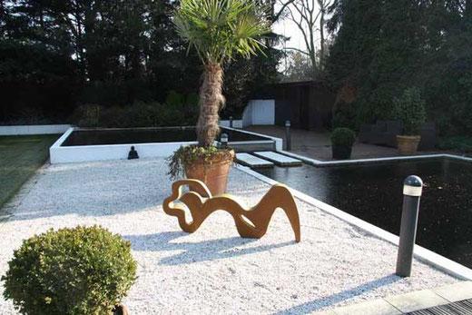 Skulptur für draussen von Harald Schloten