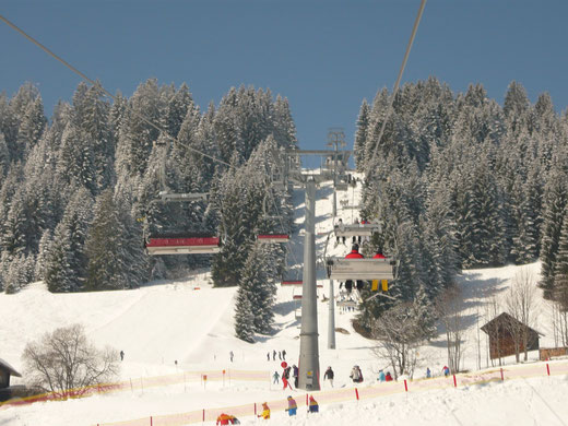 Skispass in der Heubergarena