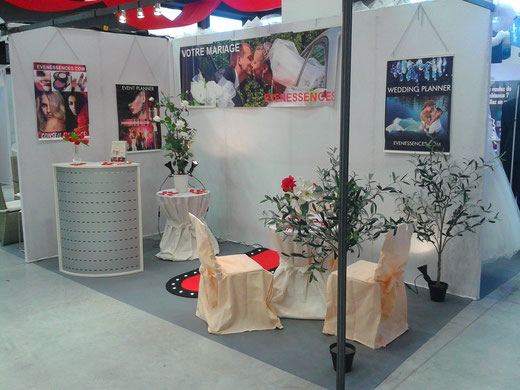 Salon mariage toulon stand evenessences