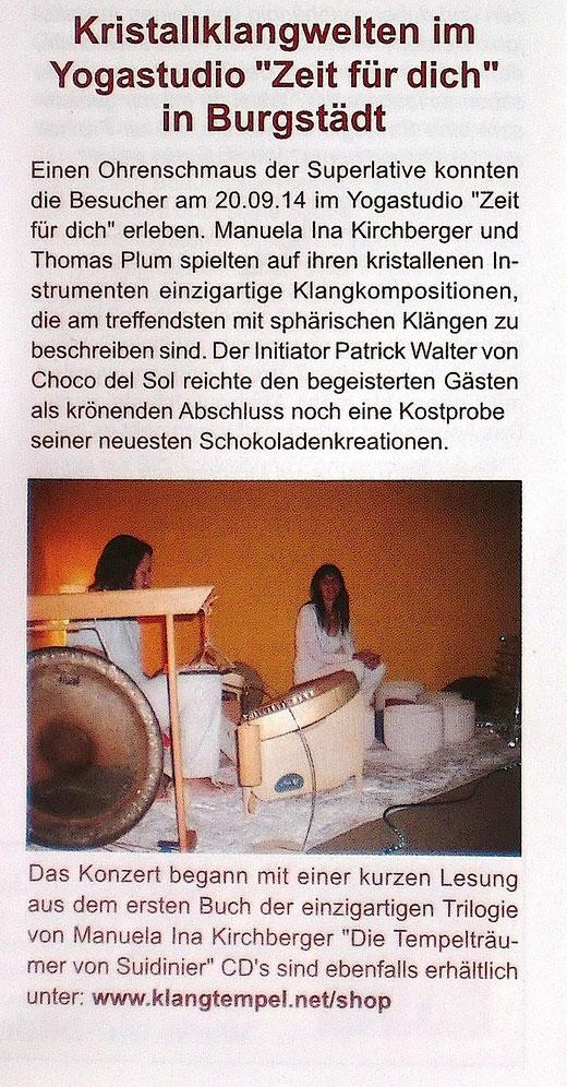 """Zeitschrift """"Trommelgeflüster"""" 11/12/2014"""