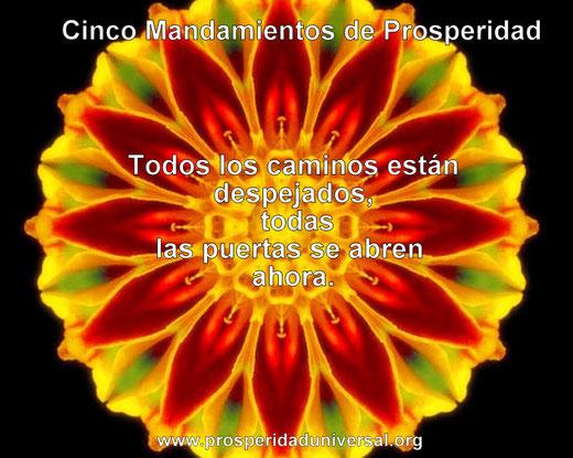 CINCO MANDAMIENTOS DE PROSPERIDAD - PROSPERIDSD UNIVERSAL - BLOG - www.prosperidaduniversal.org  -