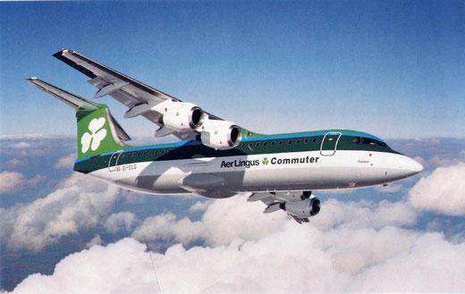 Aer Lingus Commuter BAe146-300/Courtesy: Aer Lingus