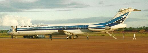 Eine MD-88, aufgenommen in Iguazu/Argentinien im Jahr 1993/Privatarchiv
