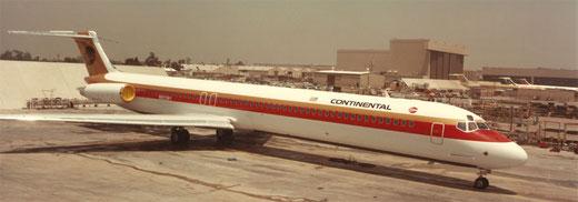 Continental MD-82/Privatsammlung/McDonnell Douglas
