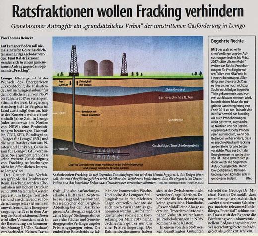 Artikel in Lippische Landeszeitung 05.09.2014