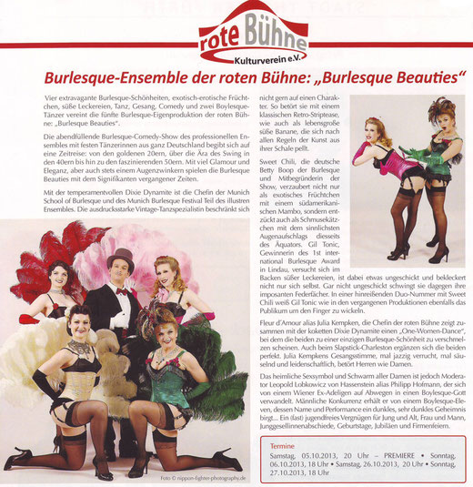 Gründers Metropol Vip Magazin, Sommer 2013