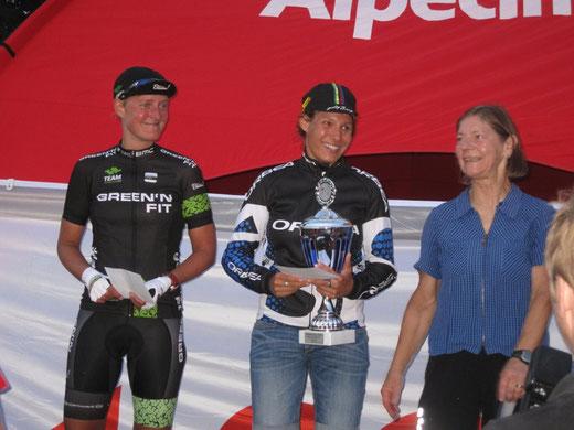 Die Kölkencup-Siegerin 2015 ist Jenny Schulz, Duathlon-Europameisterin von 2014 auf der Langdistanz