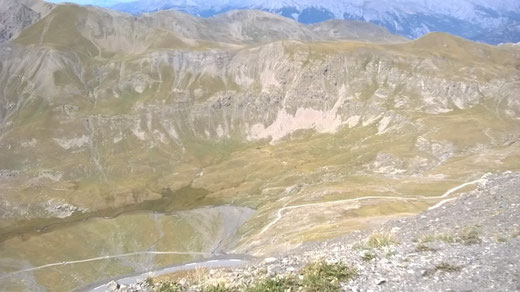 Blick vom Col de Bonette aus