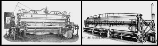 Первая вышивальная машина