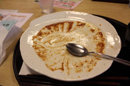 江戸屋トマトカツボルガライス完食